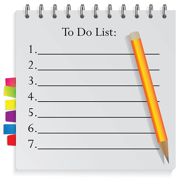 10 важных пунктов для вашего списка дел