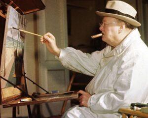 Уинстон Черчилль. Живопись как времяпрепровождение